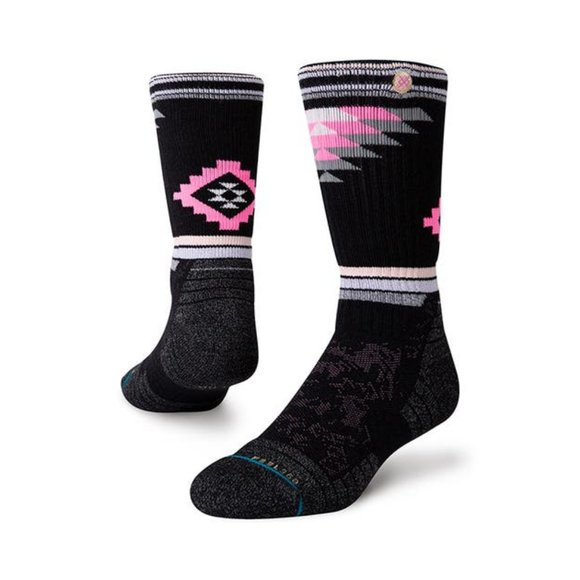 Stance Adventure Crew Socks Ruby Valley Large 9-13